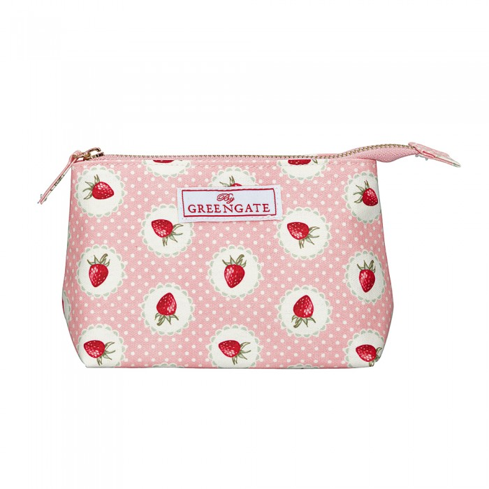"Kosmetiktasche ""Strawberry""- klein"