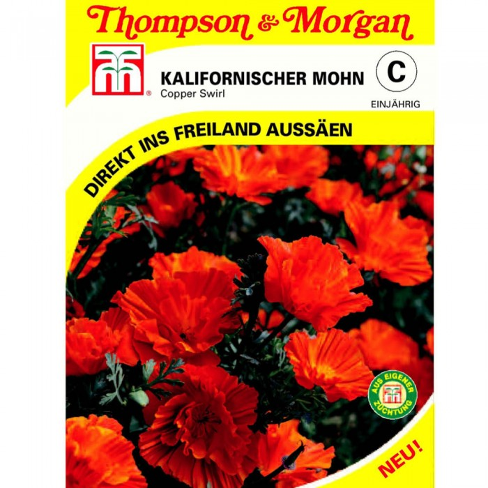 Kalifornischer Mohn Copper Swirl