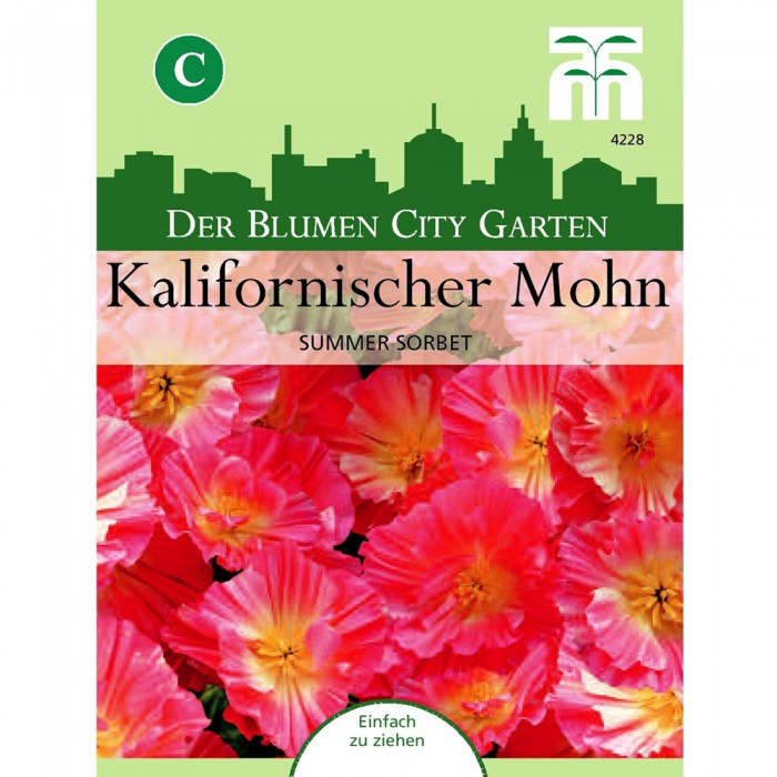 Kalifornischer Mohn 'Summer Sorbet'