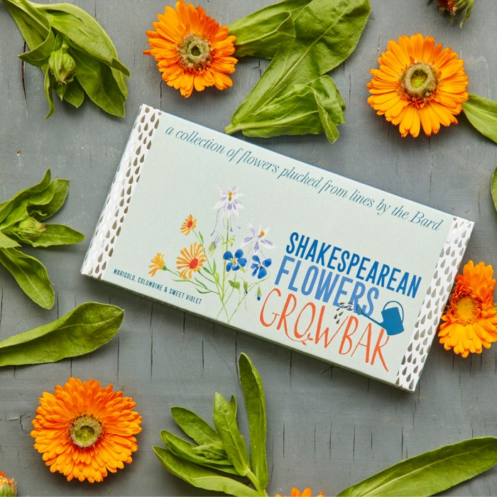 Shakespearean Flowers von Growbars