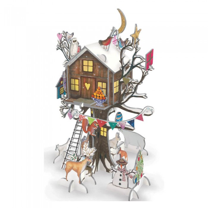 "3D Adventskalender ""Christmas Treehouse"" von Roger la Borde"