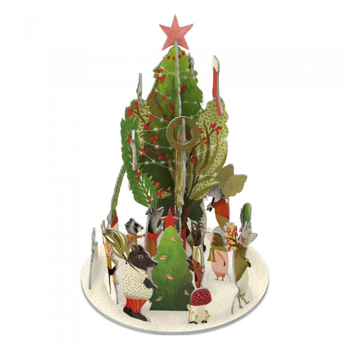 "3D-Adventskalender ""Christmas Procession"" von Roger la Borde"