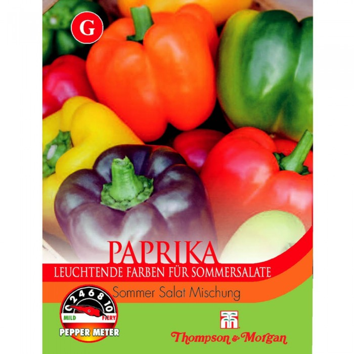 Paprika 'Sommer Salat Mischung'