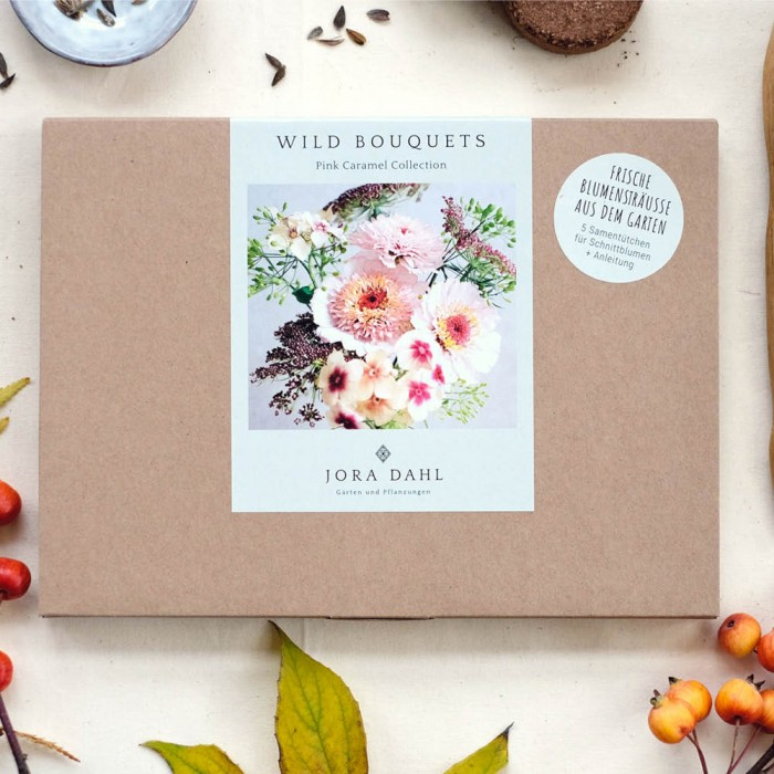 "Saatgut ""Wild Bouquets Pink Caramel Collection"""