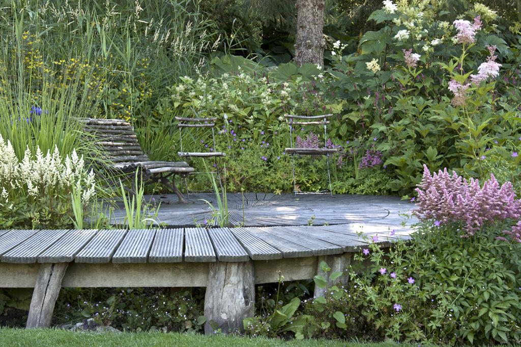 Gartenzauber for Gartengestaltung schattiger garten