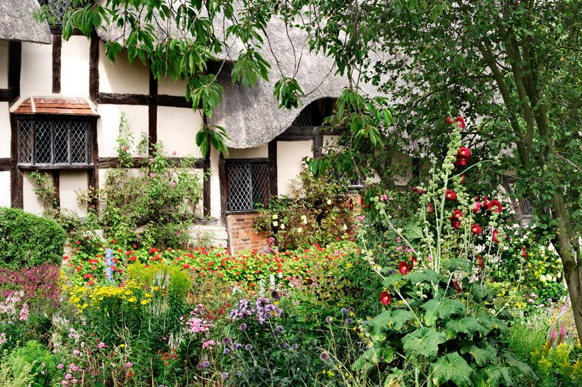 Cottage g rten gartenzauber for Gartengestaltung cottage
