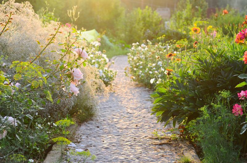Auf Wegen durch den Garten wandeln - Gartenzauber