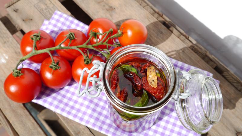 Ofengetrocknete Tomaten 2