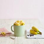 Mug Cake Banane