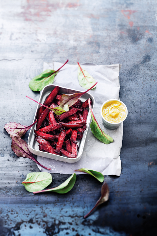Rote Bete Fritten