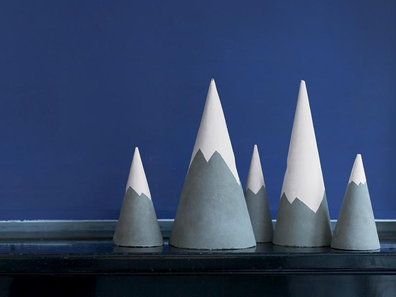 Zement-Gebirge