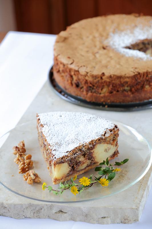 Nuss-Schokoladenkuchen