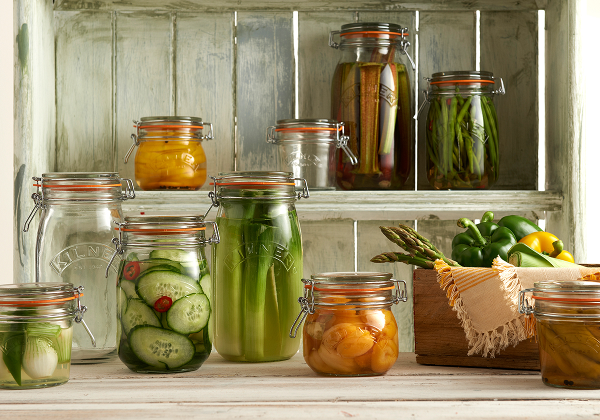 Kilner Clip Top Group Shot