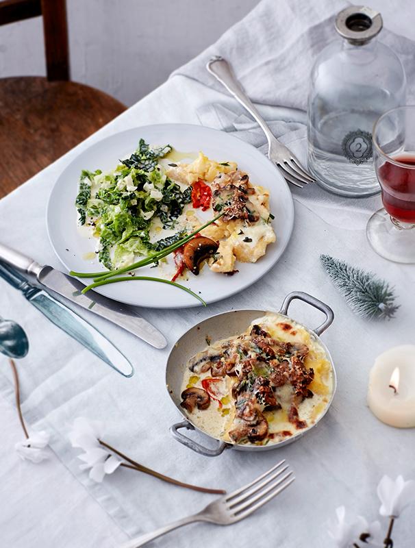 Weihnachtsessen Vegetarisch Festlich.Weihnachtsmenü Festlich Vegetarisch Gartenzauber
