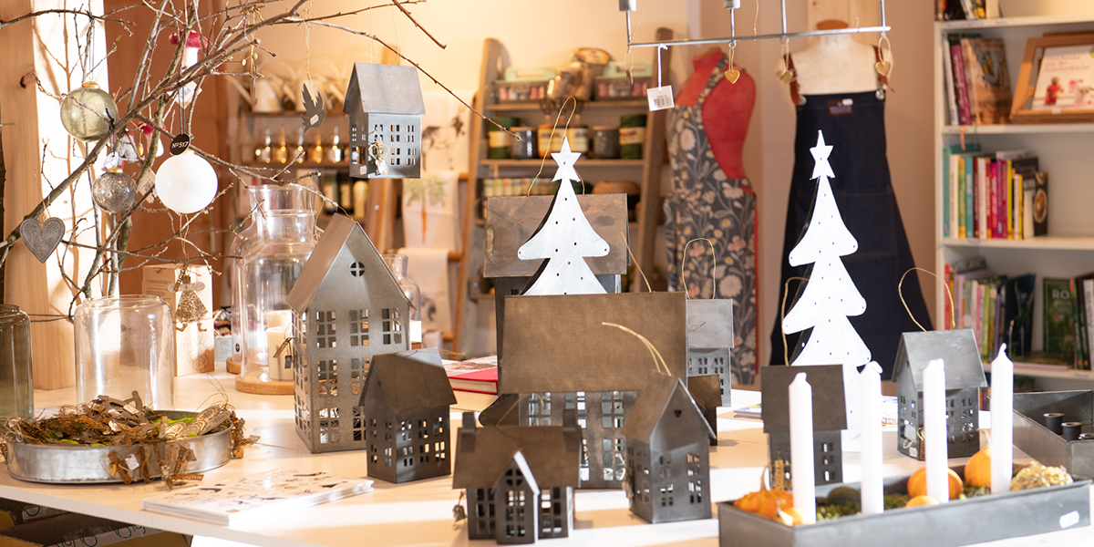 Christmas Shopping im Gartenzauber-Laden - Gartenzauber